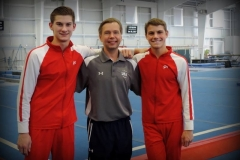 Nathan & Luke with Coach Vitaly